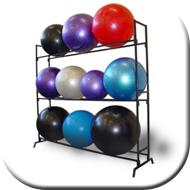 Exercise Ball Storage